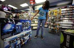 Video game sales improve slightly in September
