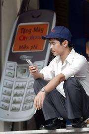 Vietnam lauched its first 3G service