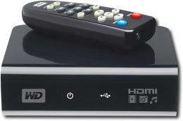 WD TV HD media player