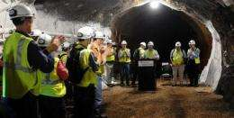 Work begins on world's deepest underground lab (AP)