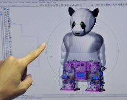 World's first panda robot is taking shape at the cutting-edge lab in Taiwan