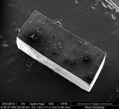 Researchers create self-strengthening nanocomposite