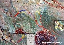 Amazon rainforest splits along geological lines