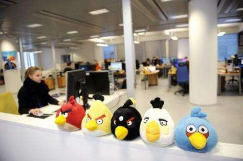 """Angry Birds"" mobile phone game has become a matter of national pride in Finland"