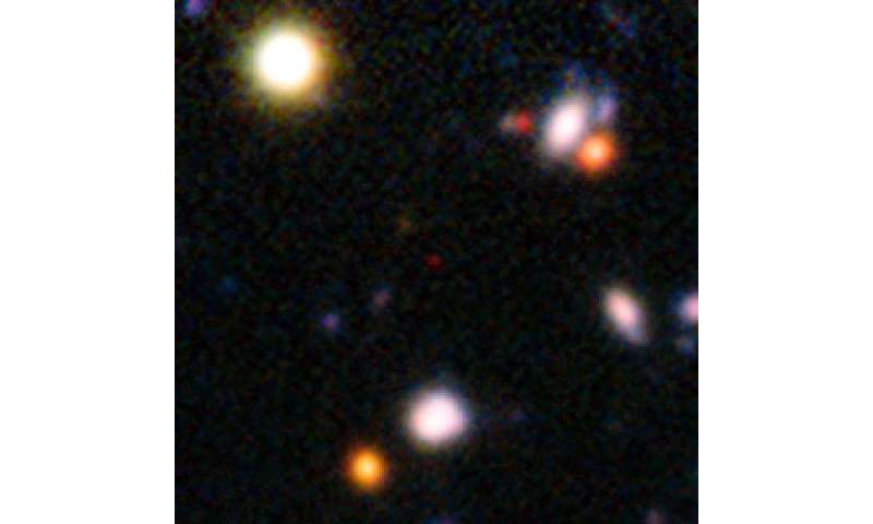 Distant galaxies reveal the clearing of the cosmic fog
