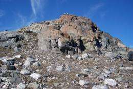First life may have arisen above serpentine rock, researchers say