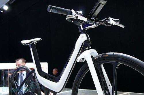 Ford concept E-Bike has smartphone built in