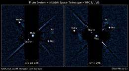 NASA'S Hubble discovers another moon around pluto
