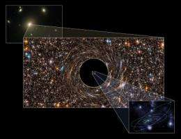 Record massive black holes discovered lurking in monster galaxies