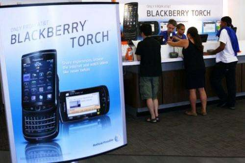 Research in Motion announced plans for five new BlackBerry smartphones