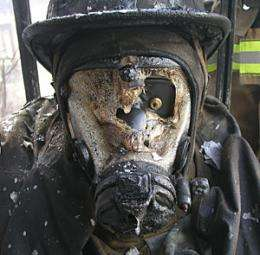 Study finds failure points in firefighter protective equipment
