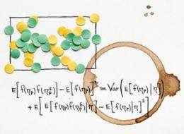 Studying random structures with confetti