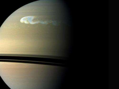 Tempest-from-hell seen on Saturn