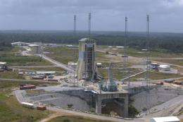 Soyuz launch site ready for first flight