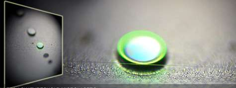 Tiny ring laser accurately detects and counts nanoparticles