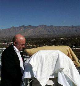 Tragic romance eclipses 2nd-to-last shuttle flight (AP)