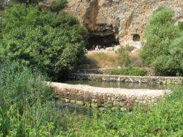 Underground water reservoirs for the Jordan Valley