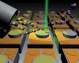 Empa researchers use electron beams for chemical reactions