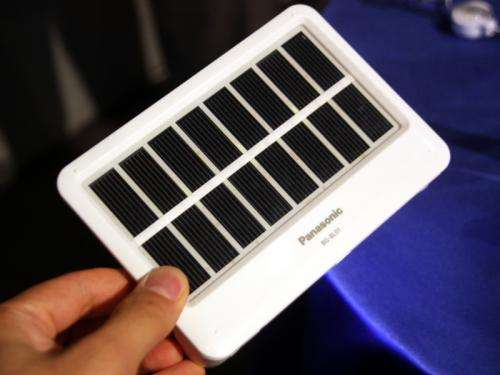 Panasonic releases a solar charger with USB, AA battery slots and LED lights