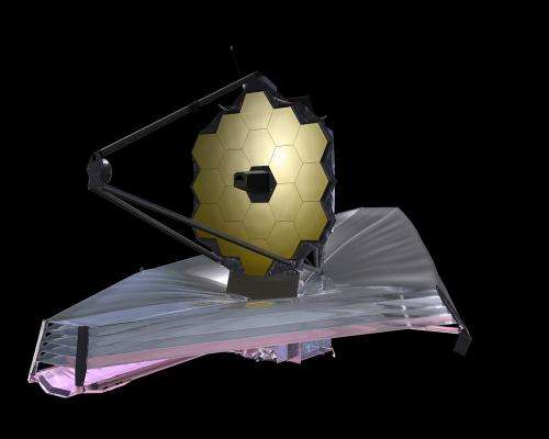 Tests under way on the sunshield for Webb telescope