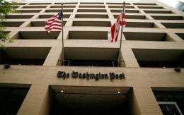 The Washington Post said Thursday that a hacker had gained access to nearly 1.3 million email addresses and user IDs