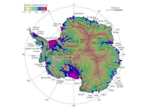 Researchers chart long-shrouded glacial reaches of Antarctica