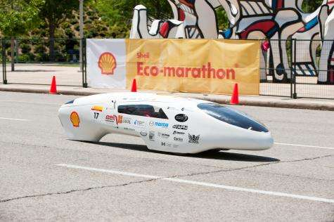 2,564 miles per gallon achieved at Shell Eco-marathon