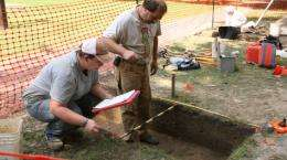 Archaeologists discover brick foundations near Wren Building