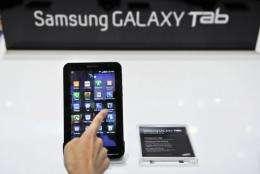 """Samsung's """"Galaxy Tab"""""""