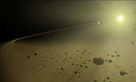 Astronomy without a telescope - our unlikely solar system