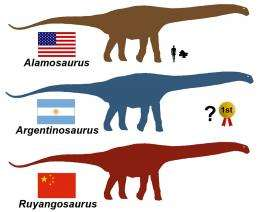 New study reveals North America's biggest dinosaur