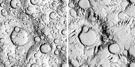 Is the moon Titan shaped by weather, or ice volcanoes?