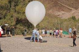 NASA's Spaceward Bound takes teachers trekking across the mojave desert