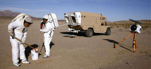 Scientists simulate Moon and Mars exploration in Mojave desert