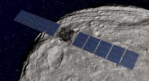 Dawn spacecraft spirals down to lowest orbit