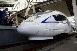 A former China railway engineer says the high-speed rail-link's top speed is