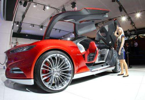 Ford shows new Evos concept car at Frankfurt show