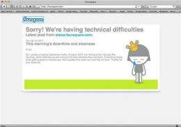 Amazon failure takes down sites across Internet (AP)