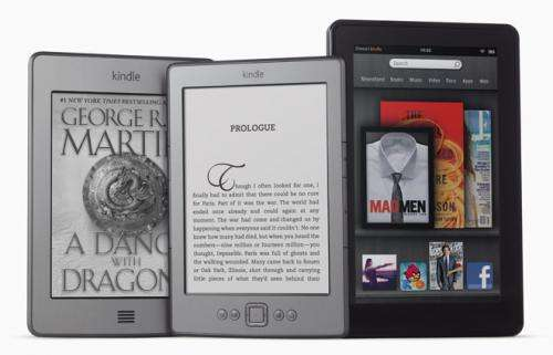 Amazon launches iPad rival, the Kindle Fire