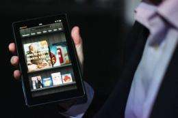 Amazon selling over one million Kindles a week