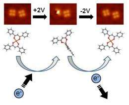 A molecule that switches on and off