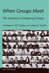 Analysis shows personal contact reduces tension and prejudice