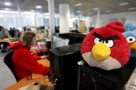 """Angry Birds"" mobile phone game launched a small Finnish software company into worldwide fame"