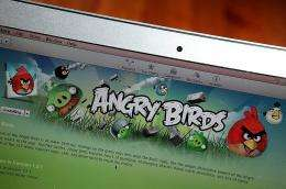 """An image of the popular video game """"Angry Birds"""""""