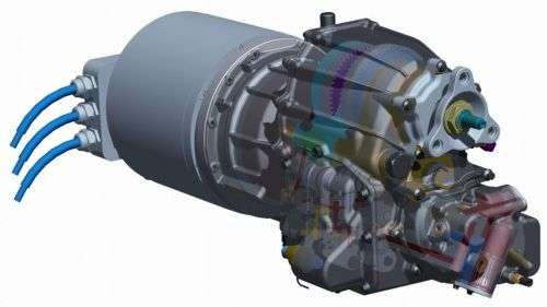 Antonov creates a 3-speed transmission for electric cars