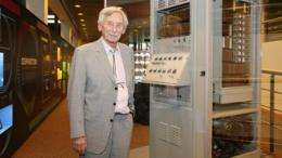 A pioneering computer found in the basement of EPFL