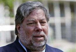 Apple co-founder Wozniak says he'll miss Jobs (AP)
