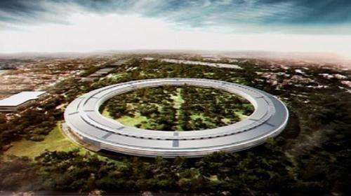 Apple is hoping to break ground next year on a new campus designed to resemble a huge spaceship