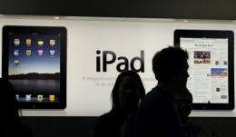 Apple said Tuesday that it was delaying next week's release of the iPad 2 in Japan