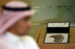 Archaeological artifacts from an ancient civilization have been found on the Arabian Peninsula